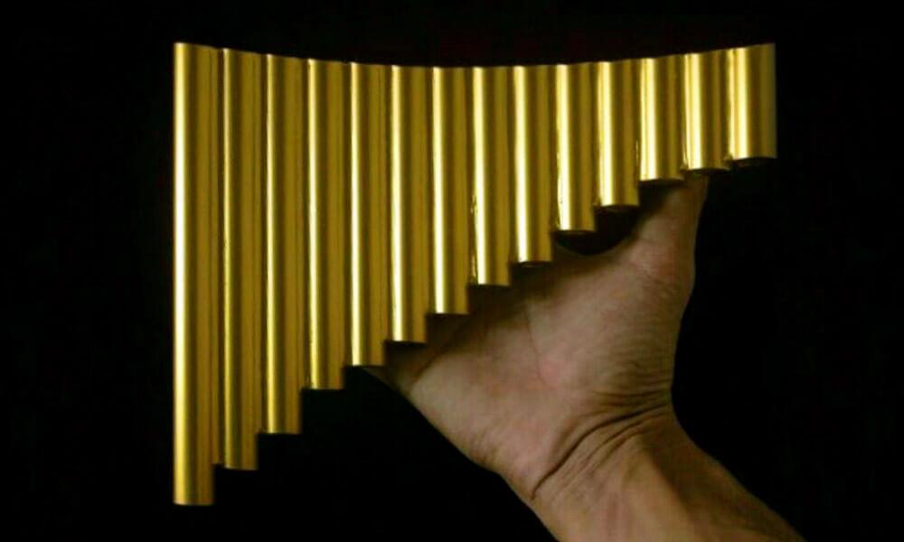 Flauta de Pan de PVC