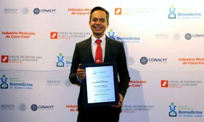 Doctor Edgar Morales Ríos, Mexicano es Premiado por Impedir Transporte y Reproducción de Virus