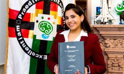 Dafne Almazán Anaya, la psicóloga mexicana más joven del mundo obtiene su maestría a los 16 años de edad