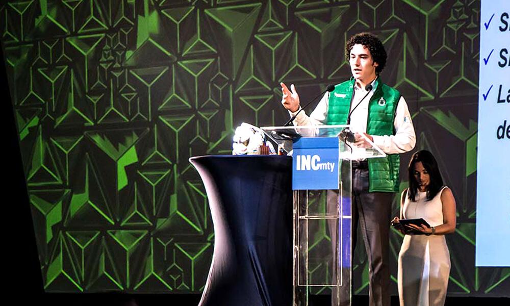 David Hernández en Heineken Green Challenge